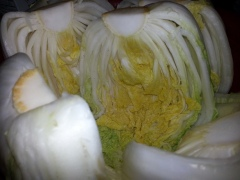 Preparing Cabbage