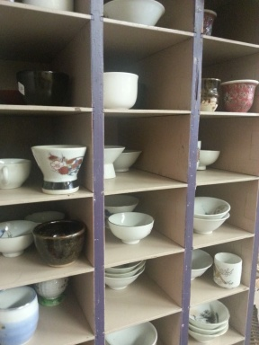 Sake cups @ Alan's Art and Collectibles