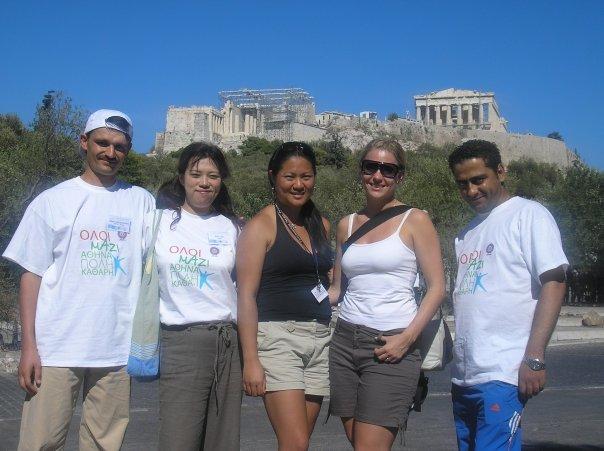 SWY16ers in Greece
