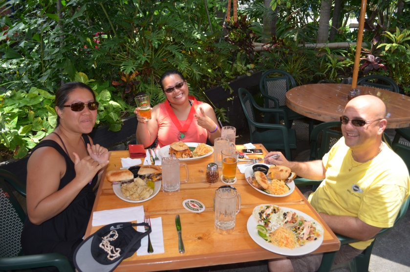 Lunch at Kona Brewing Company