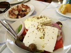Greek Salad (Aegina, Greece)