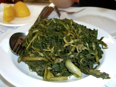 Chorta, Wild Vegetables (Aegina, Athens)