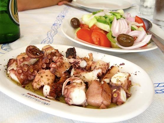 Chtapodi, Octapus (Aegina, Greece)