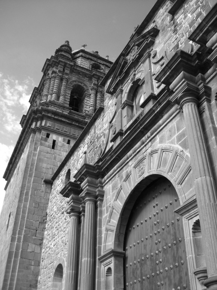 Church in Cusco, Peru