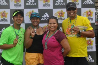 Marathon Finishers!