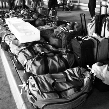 Hālau Baggage. Washington DC, 2012.