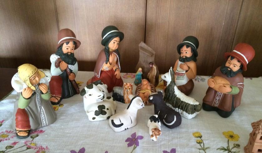 Peruvian Nativity Scene