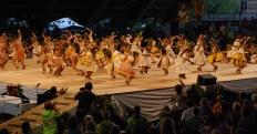 Hālau o Kekuhi opening Merrie Monarch Hōʻike 2011