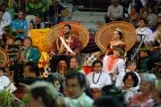 2011 Merrie Monarch Royal Court (King David Kalākaua, his Queen and the Royal Family)