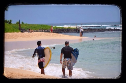 Afternoon surf session