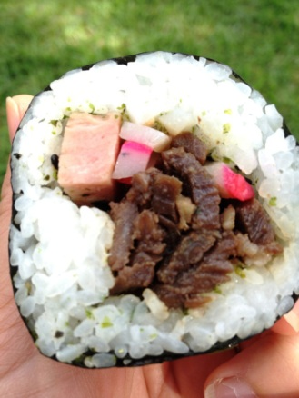 Teri Beef Roll.  Photo Credit livehiloblog.com