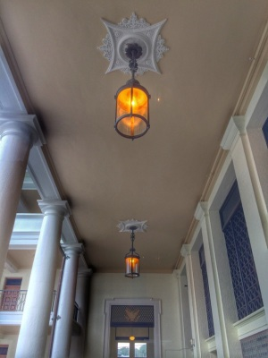 Light Fixtures in Building