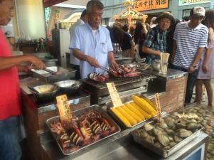 enoshima food stand