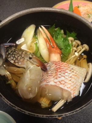 hot pot in matsuzaki