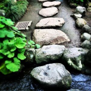 stone path at hasedera