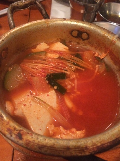 Soft Seafood Tofu Stew at 678 Hawai'i. Honolulu, Oʻahu, Hawaiʻi