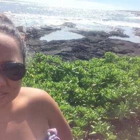 Fishing in Kāʻū, Hawaiʻi