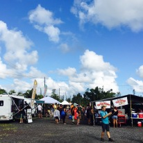A beautiful day in Pāhoa