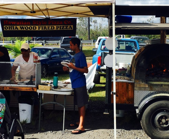 Wood fired pizza!