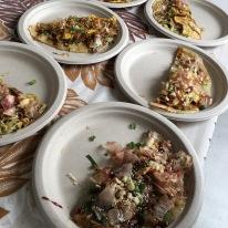 Okonomiyaki plates